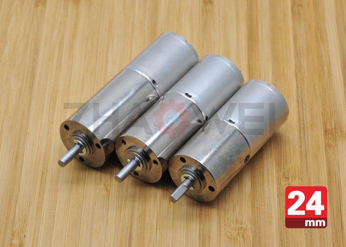 Mini 12v dc gear motor 20rpm od 24mm small micro for Mini gear motor dc